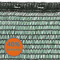 Mreža za zasenu 2,5x50m 40%