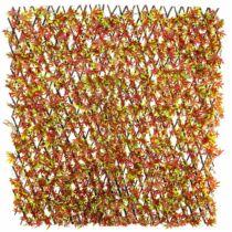 Veštačka živa ograda Javorov list jesenji 1,0x2m