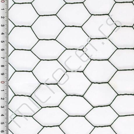 Heksagonalno pletivo 25mmx1mx25m plastificirana
