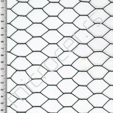 Heksagonalno pletivo 20mmx1mx25m plastificirana