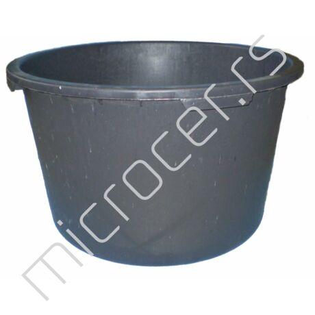 Kaca plastična 350L crna