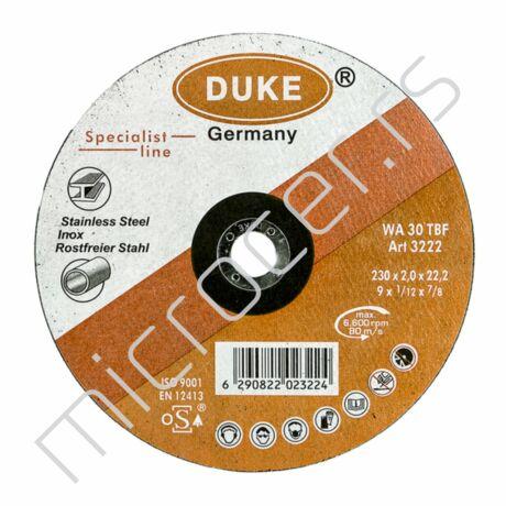 Rezna ploča 230x2x22A  Duke