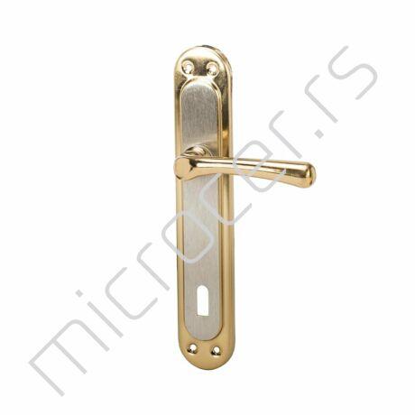 Kvaka Alb - Saten na ključ (žuta/siva)