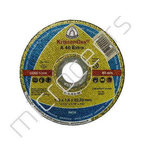 Rezna ploča 115x1,6x22A  EX Klingspor