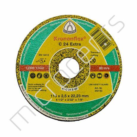 Rezna ploča 115x2,5x22C  EX Klingspor