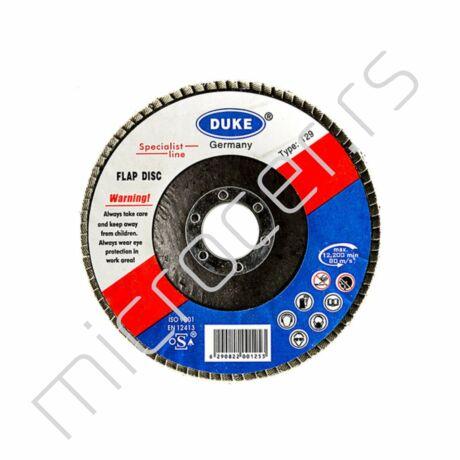 Brusni lamelni disk 115x22 P120 Duke