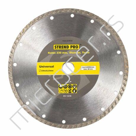 Dijamant ploča 230mm turbo - Strend Pro