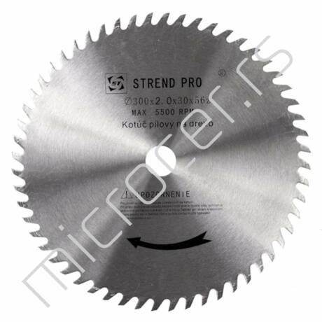 Kružni list 300x2,0x30mm  T56  CW