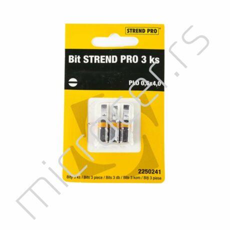 Bit umetak PL 0,6x4,0 3/1-Strend Pro