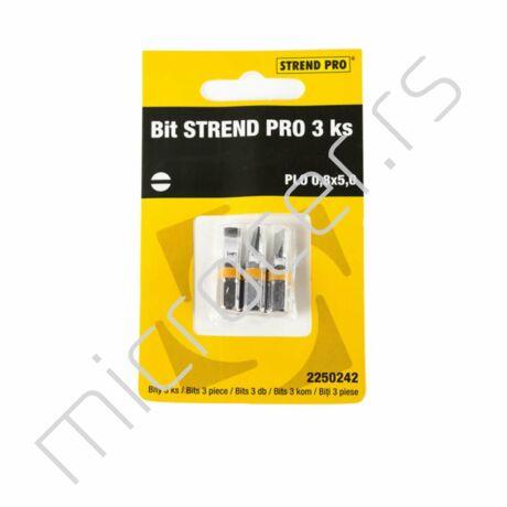 Bit umetak PL 0,8x5,0 3/1-Strend Pro