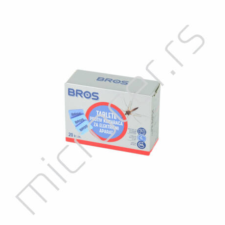 Tablete za električni aparat protiv komaraca Bros