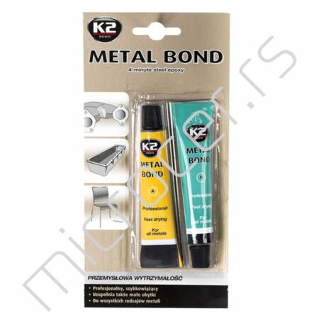 Dvokomponentni lepak K2 za metal 56,7gr
