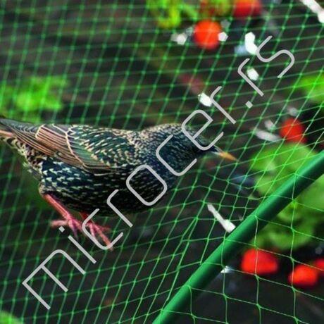 Mreža protiv ptica 4x100m pvc