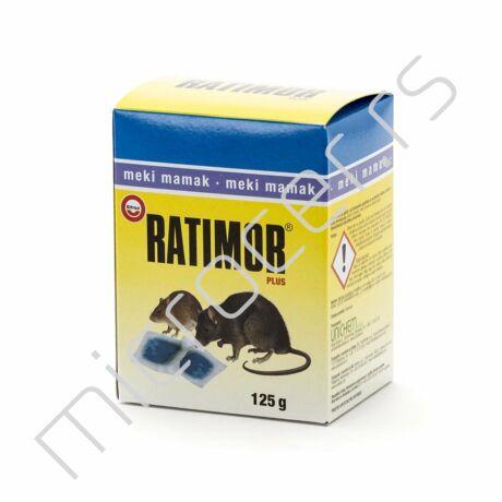 Meki mamac  Plus 125g plavi Ratimor protiv miševa i pacova