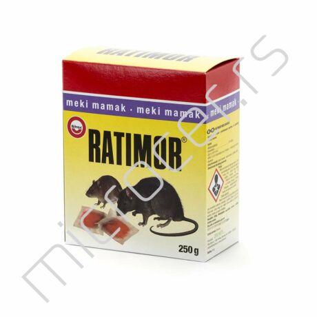 Meki mamac 250g crveni Ratimor protiv miševa i pacova