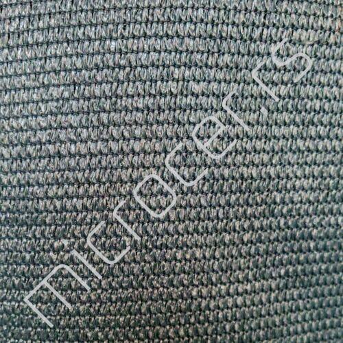 Platno za ograde 2x15m Tamno siva 240gr/m2