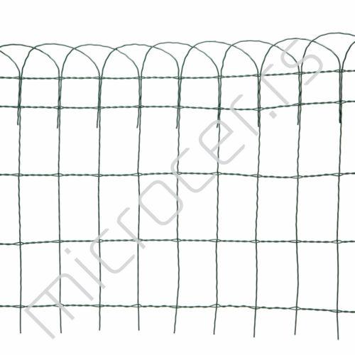 Ograda za baštu ukrasna žičana 0,65x10m