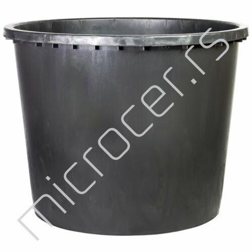 Kaca plastična 500L crna