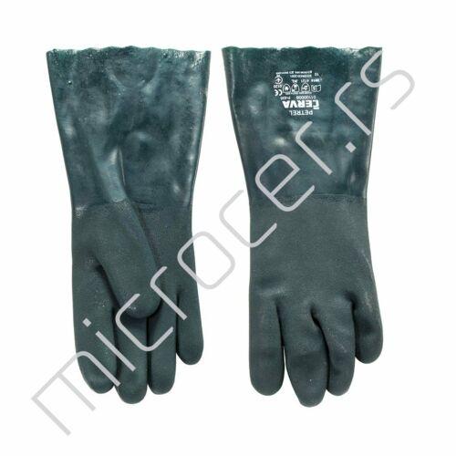 Radne rukavice za ulje i rastvor 35cm(zelena)