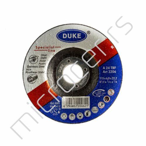 Brusna ploča 115x6x22 A Duke