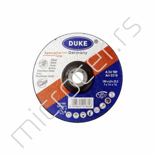 Brusna ploča 180x6x22 A Duke