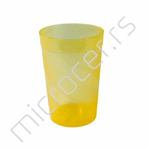 Čaša 2,5dl pvc extra