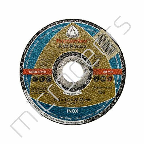 Rezna ploča 115x1x22A 60R Klingspor