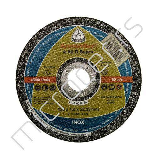 Rezna ploča 125x1x22A 60R Klingspor
