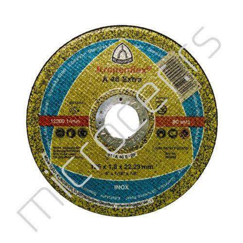 Rezna ploča 125x1,6x22A  EX Klingspor