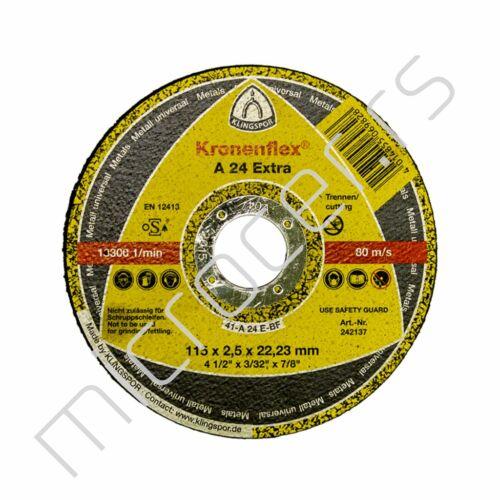 Rezna ploča 115x2,5x22A  EX Klingspor