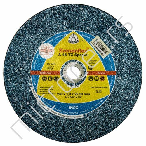 Rezna ploča 230x1,9x22A  46TZ Klingspor