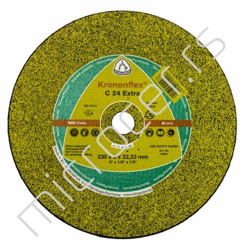 Rezna ploča 230x3x22C  24EX Klingspor