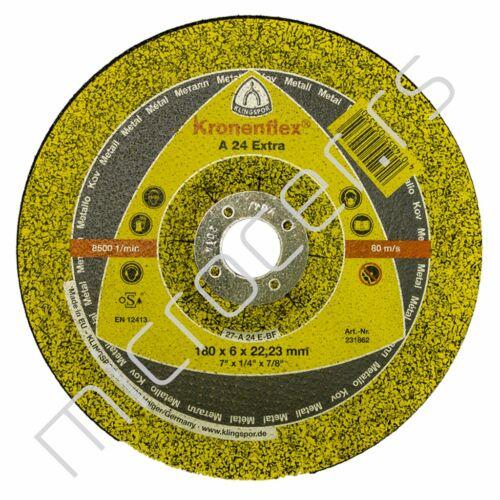 Brusna ploča 180x6x22A  EX - Klingspor