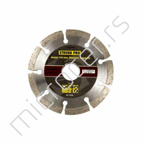 Dijamant ploča 115mm segmentirana - Strend Pro