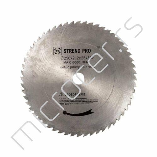 Kružni list 250x2,2x25mm  T56  CW