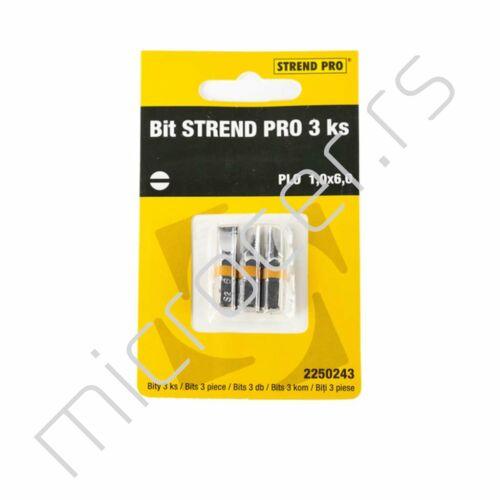 Bit umetak PL 1,0x6,0 3/1 Strend Pro