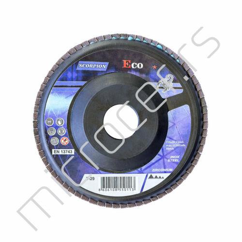 Brusni lamelni disk 115 P80 Scorpion Eco T-29