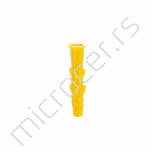 Tipla gužvajuća 8mm 250/1 žuta