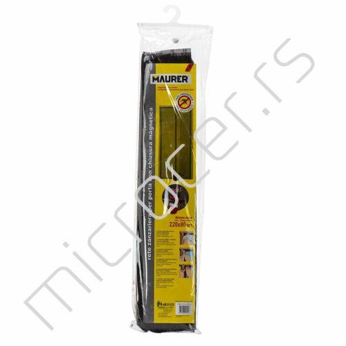 Magnetna zavesa protiv insekata crna 220x80cm