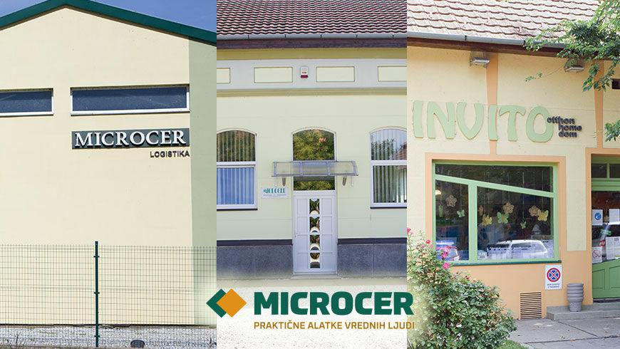Microcer - Logistika, Direkcija, Maloprodaja